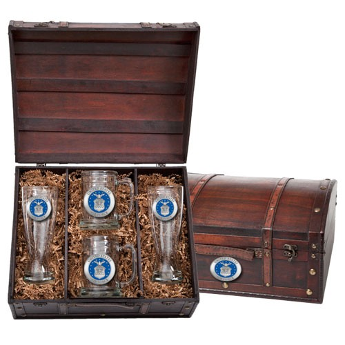 Air Force Beer Set w/ Chest