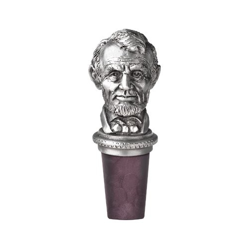 16th US President Abraham Lincoln Bottle Stopper