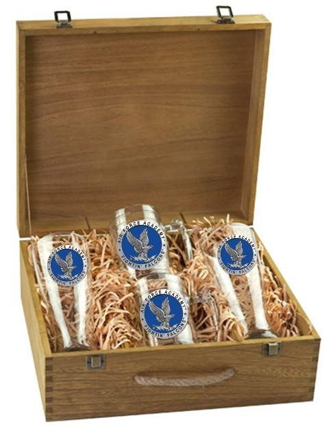 Air Force Academy Beer Set w/ Box - Enameled