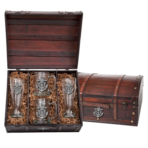 Anchor Beer Set w/ Chest
