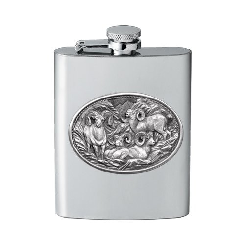 Bighorn Sheep Flask