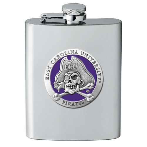 East Carolina University Flask - Enameled