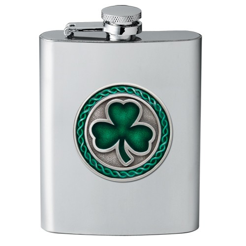Clover Flask - Enameled