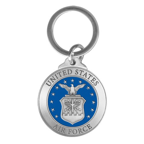 Air Force Key Chain - Enameled