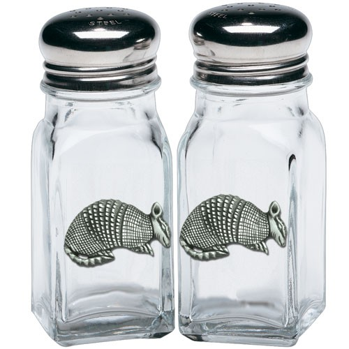Armadillo Salt and Pepper Shaker Set