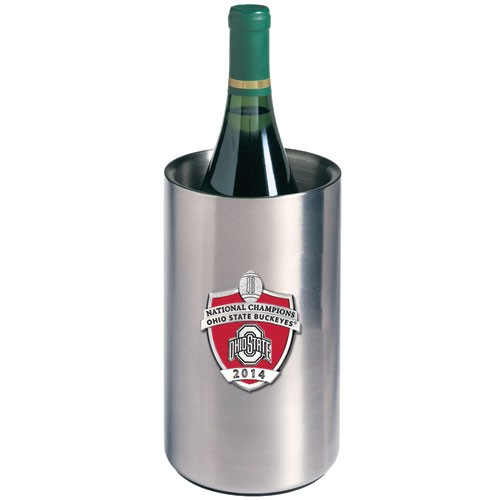 2014 BCS National Champions Ohio State Buckeyes Wine Chiller - Enameled
