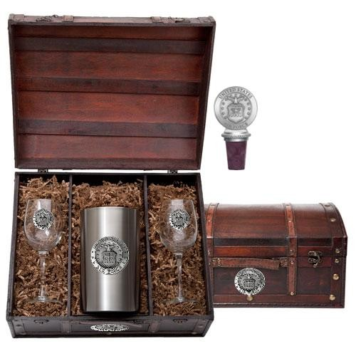 Air Force Wine Set w/ Chest