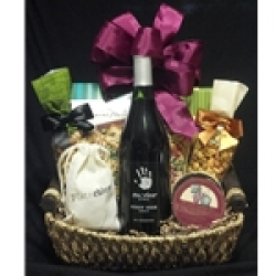 $52.50 Wine Gift Basket - Red Wine