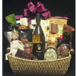 $100 Wine Gift Basket - White Wine