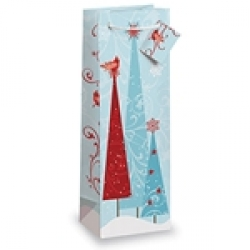 Gift Bottle Bag - First Snow