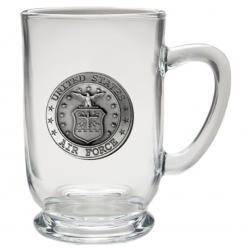 Air Force Clear Coffee Cup