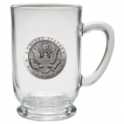 Army Clear Coffee Cup