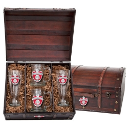 2014 BCS National Champions Ohio State Buckeyes Chest Set w/ Box - Enameled