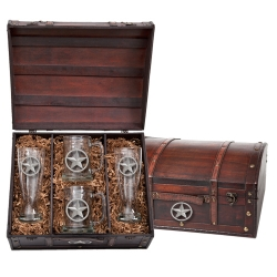 Lone Star Beer Set w/ Chest