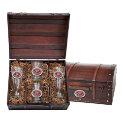 Western Kentucky University Beer Set w/ Chest - Enameled