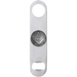 Masonic Square & Compass Bottle Opener