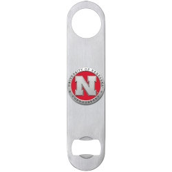 University of Nebraska Bottle Opener - Enameled