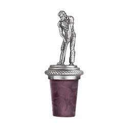 Golfer Bottle Stopper