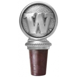 "University of Washington ""Huskies"" Pewter Bottle Stopper"