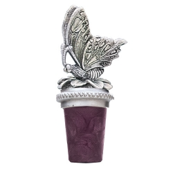 Butterfly Pewter Bottle Stopper