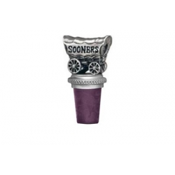 "University of Oklahoma ""Sooners"" Pewter Bottle Stopper"