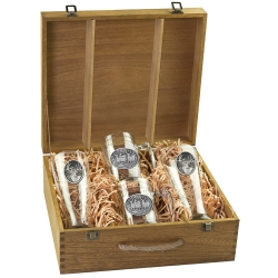 Whitetail Deer Beer Set w/ Box