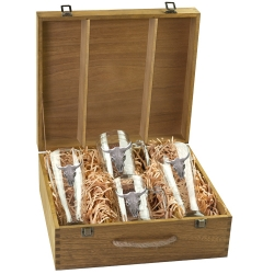 Longhorn Beer Set w/ Box