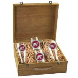 West Texas A&M University Beer Set w/ Box - Enameled