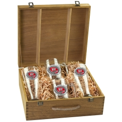 Western Kentucky University Beer Set w/ Box - Enameled