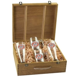 Oklahoma State University Beer Set w/ Box - Enameled
