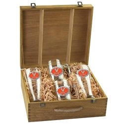University of Virginia Beer Set w/ Box - Enameled