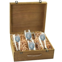 Law Enforcement Beer Set w/ Box - Enameled