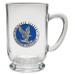 Air Force Academy Clear Coffee Cup - Enameled