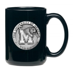 University of Memphis Black Coffee Cup