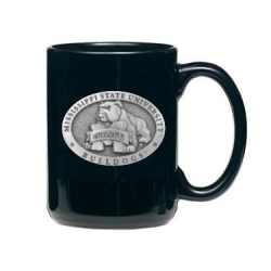 "Mississippi State University ""Bulldogs"" Black Coffee Cup"