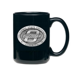 Oklahoma State University Black Coffee Cup