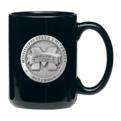 "Mississippi State University ""M"" Black Coffee Cup"