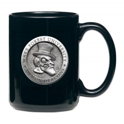 "Wake Forest University ""Demon Deacons"" Black Coffee Cup"