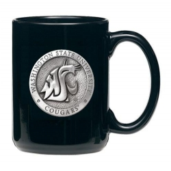 Washington State University Black Coffee Cup