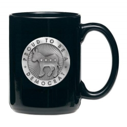 Democrat Black Coffee Cup