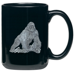 Gorilla Black Coffee Cup