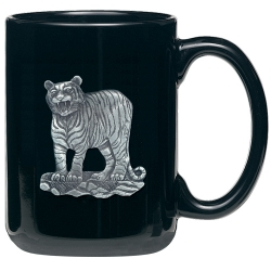 Tiger Black Coffee Cup