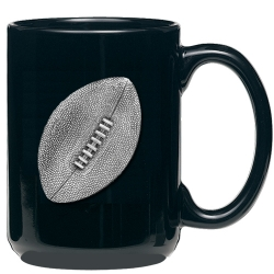 Football Black Coffee Cup