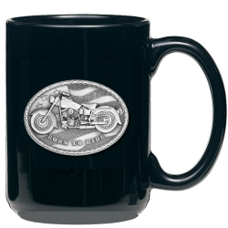 Motorcycle Black Coffee Cup