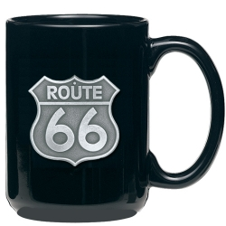Route 66 Black Coffee Cup