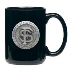 Florida State University Black Coffee Cup