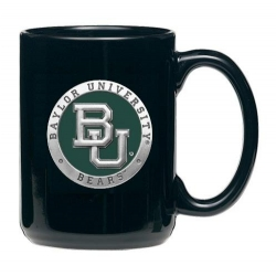 Baylor University Black Coffee Cup - Enameled