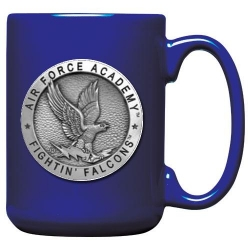 Air Force Academy Cobalt Coffee Cup