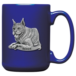 Boxer Cobalt Coffee Cup
