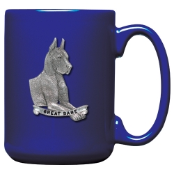 Great Dane Cobalt Coffee Cup